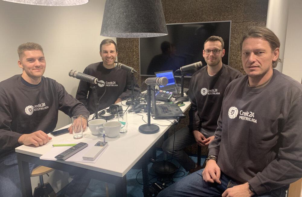 """Podcast """"Kuldne geim""""   Vesik komplekteerib eurosarjaks uut meeskonda, Toobal võtab Teppanil trennis tuju ära"""