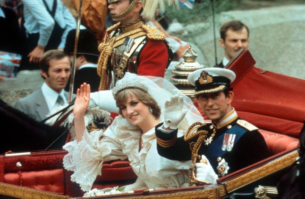 KAHEKSA detaili printsess Diana pulmapäeva kohta, mida sa tõenäoliselt veel kuulnud ei ole