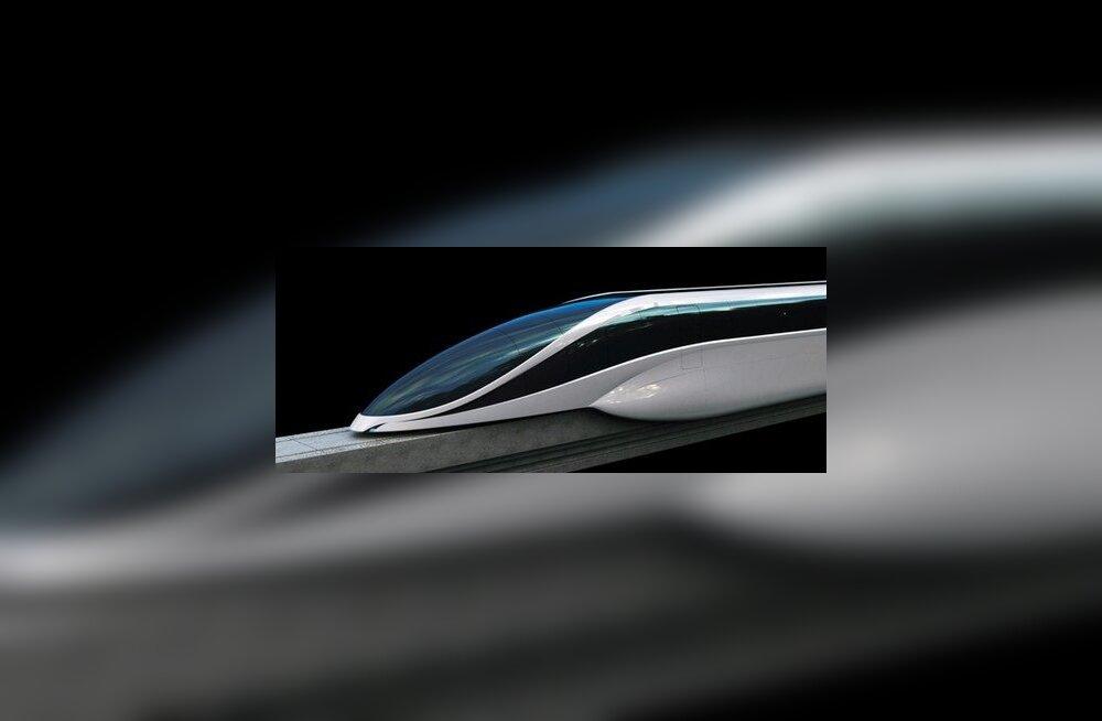 Magnethõljuv rong EOL