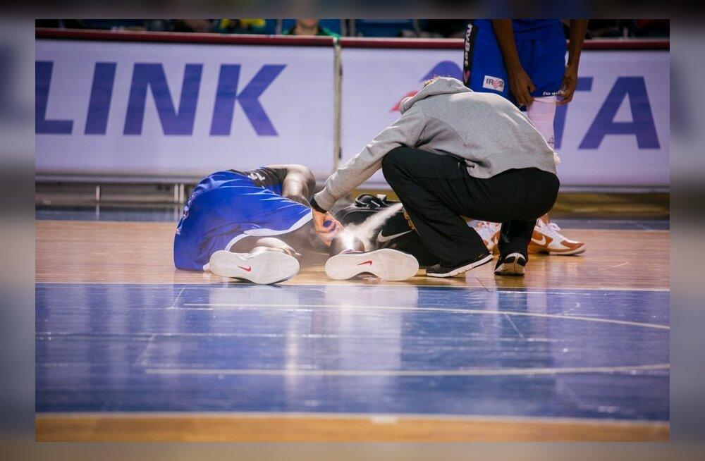 VIDEO JA FOTOD: Kalev/Cramo võttis suure võidu, laatsaretiga liitus Bamba Fall