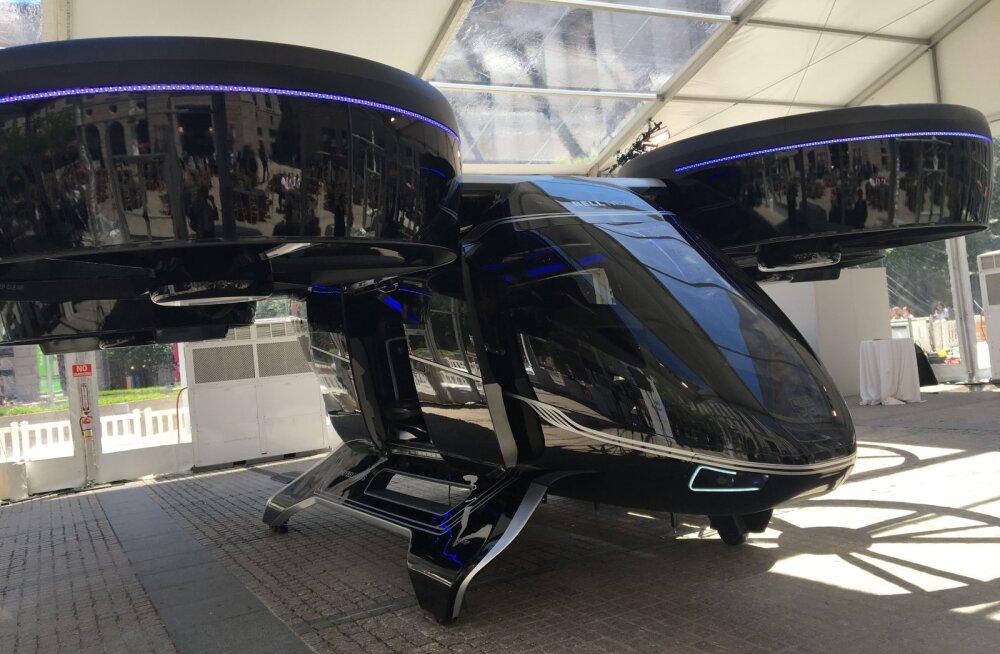 Uber hakkab 2023. aastast kasutama lendavaid taksosid