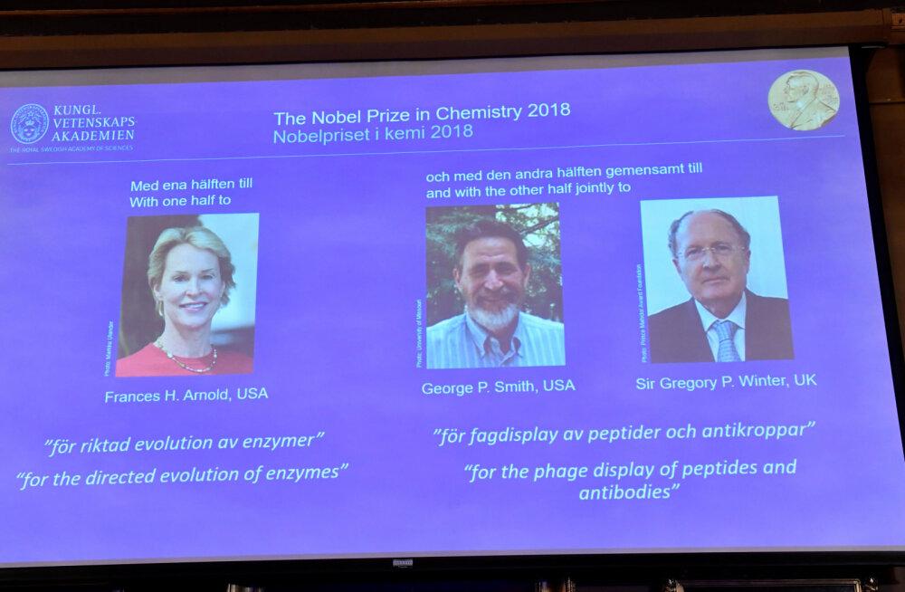 2018 NOBELI PREEMIAD | Keemiapreemia said tuleviku teerajajad