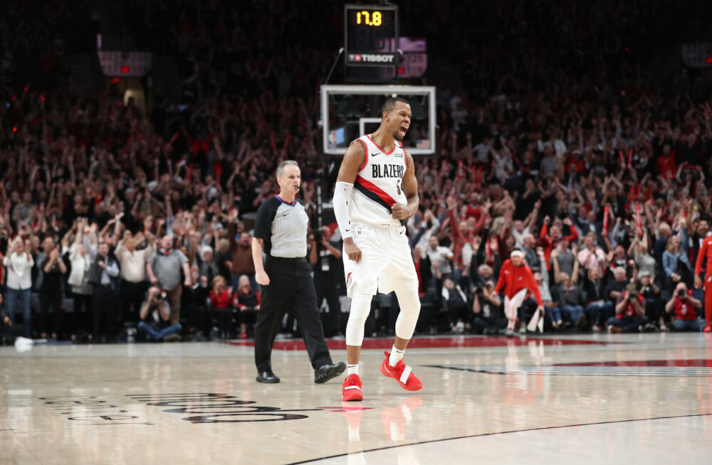 VIDEO | Portland võitis ajaloolise mängu Denveri vastu neljandal lisaajal!