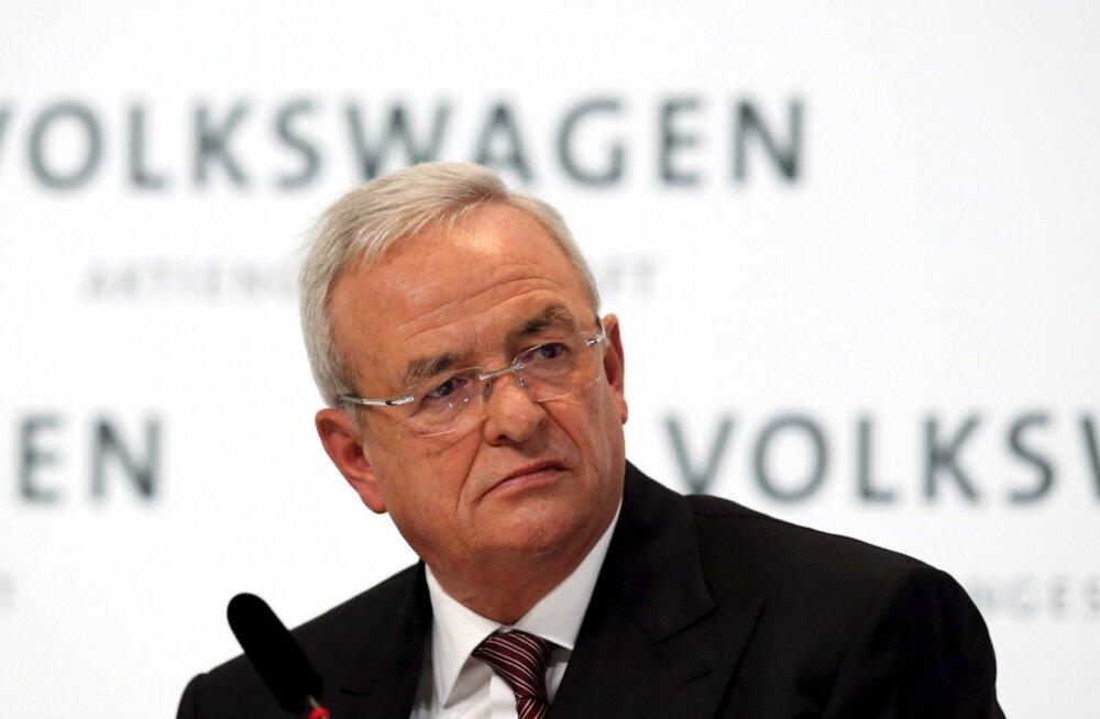 Saksa prokuratuur alustas kriminaaljuurdlust Volkswageni endise juhi üle
