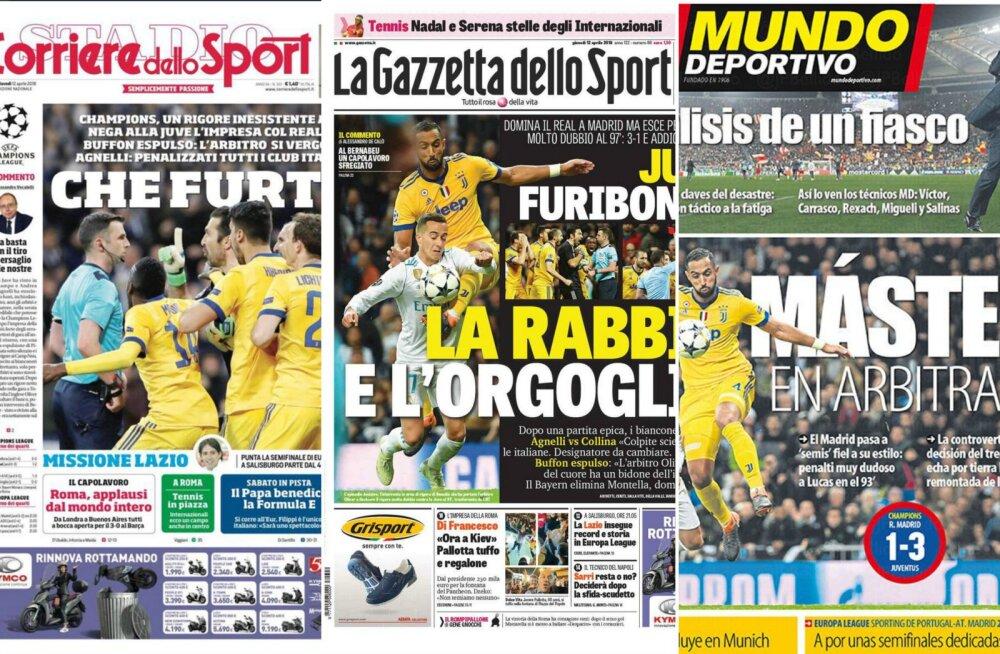 Kataloonia spordileht: Reali penalti oli sajandi suurim rööv!