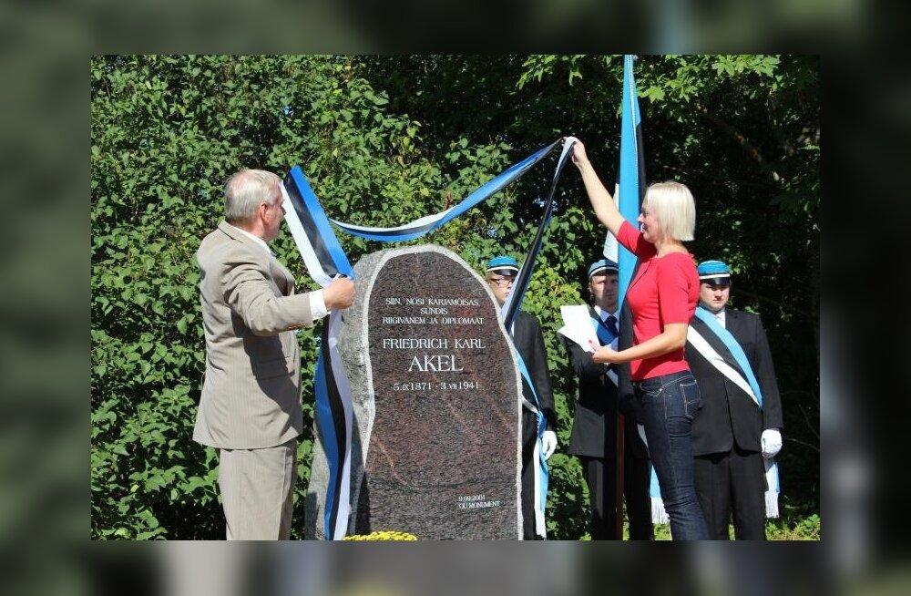 Hallistes tähistati riigivanem Friedrich Karl Akeli 140. sünniaastapäeva
