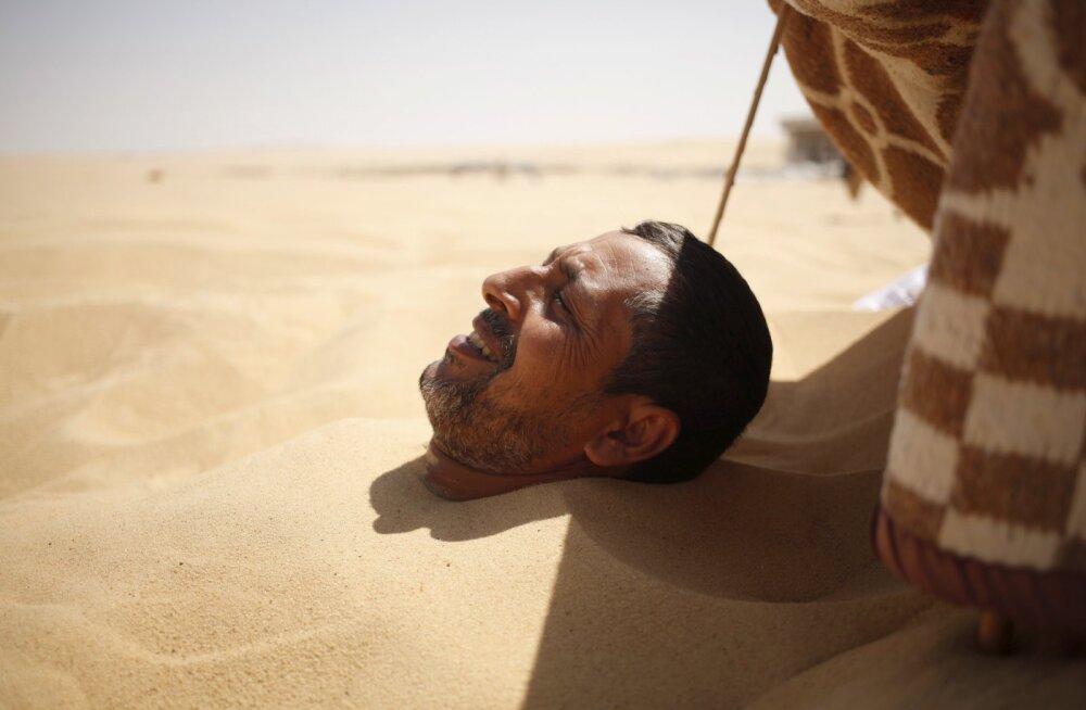 PILDID: kui sügiskülm poeb naha vahele, mine kuuma liiva sisse