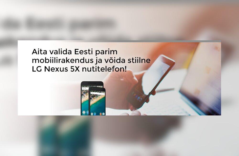 Mis on Eesti parim mobiiliäpp? 10 tänavust finalisti selgunud