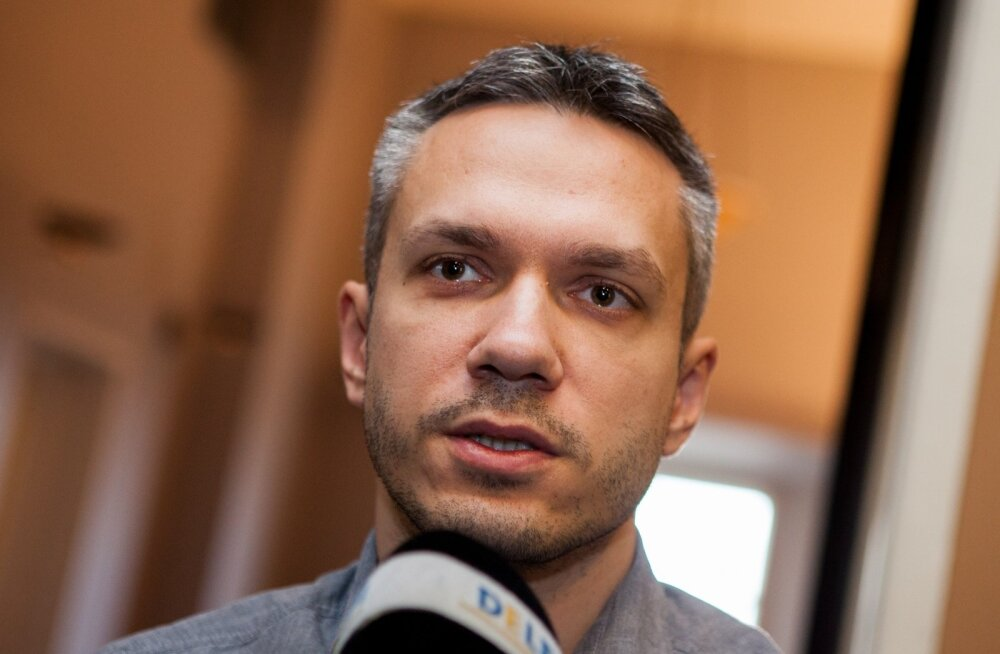 Депутат Рийгикогу Андрей Коробейник
