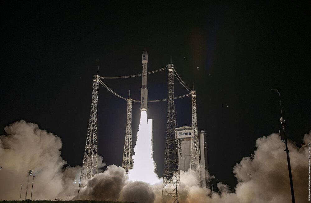 VIDEO | Tudengisatelliit Hämarik jõudis täna varahommikul orbiidile<o:p></o:p>