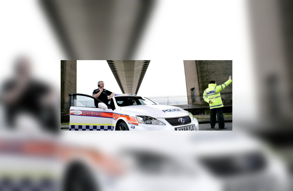 Briti politsei sai õige magusad ametiautod