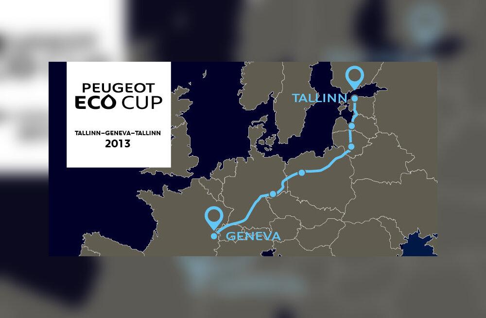 Ökosõiduvõistluse võitja sõitis Genfi kütusekuluga 3,3 l/100 km kohta