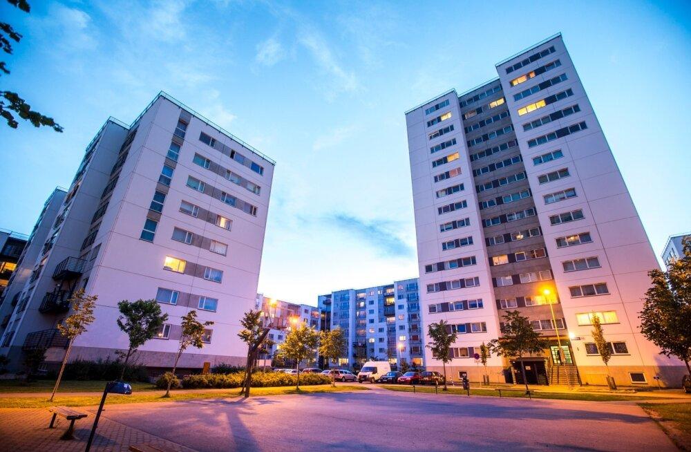 Elanike arvu kasv hoiab Tallinna kinnisvaraturgu aktiivsena