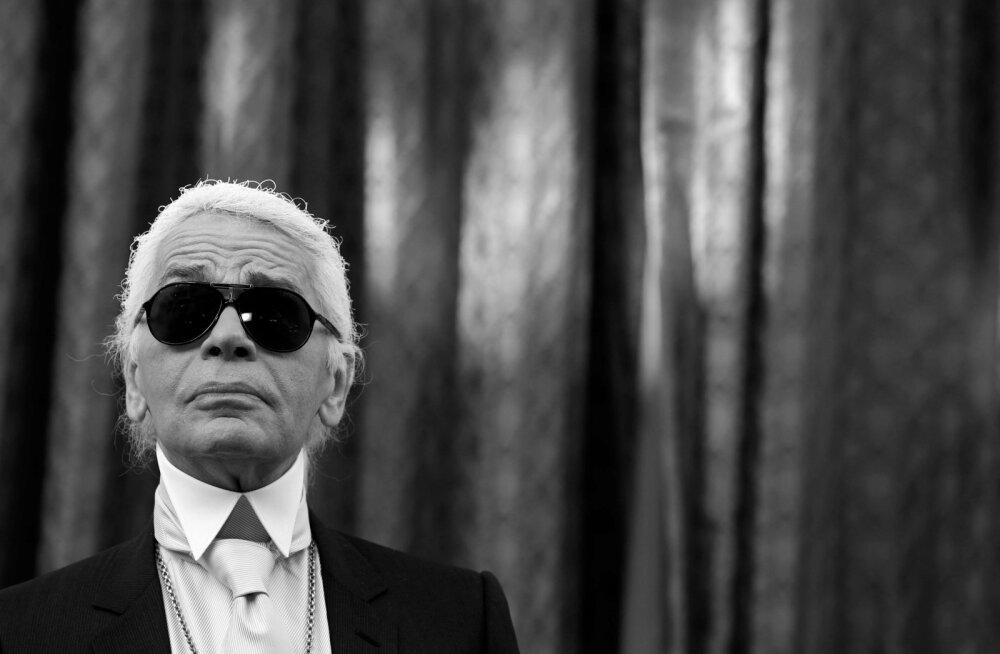 Suri moelooja Karl Lagerfeld