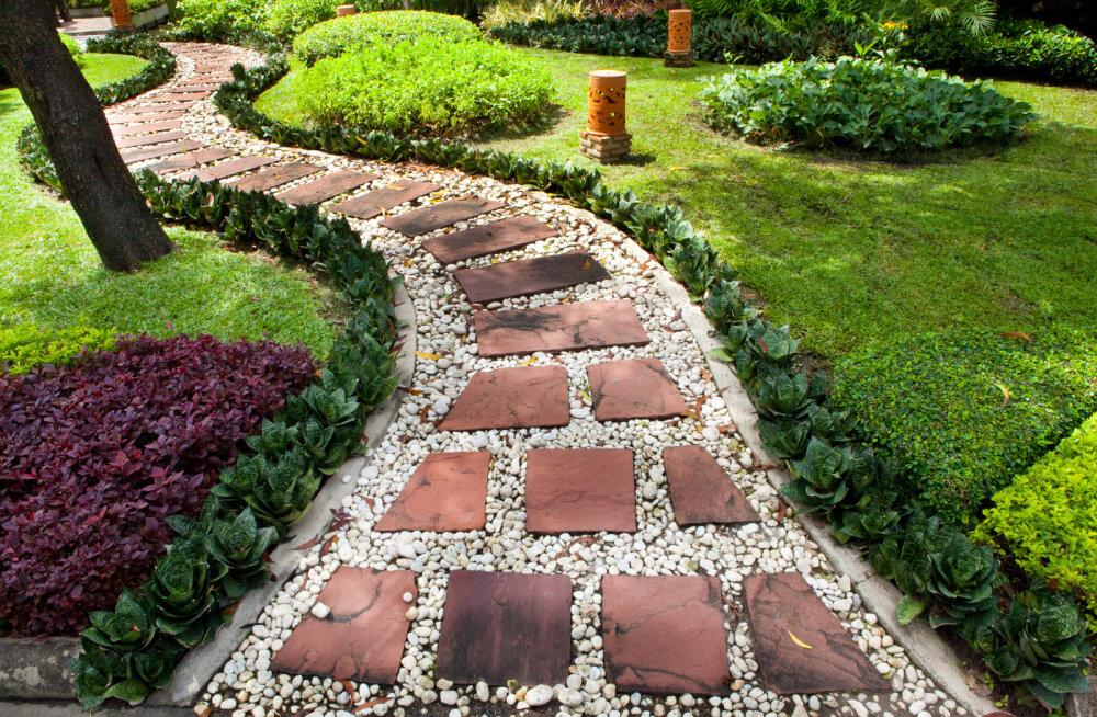 Красота в простоте: идеи дизайна садовых дорожек
