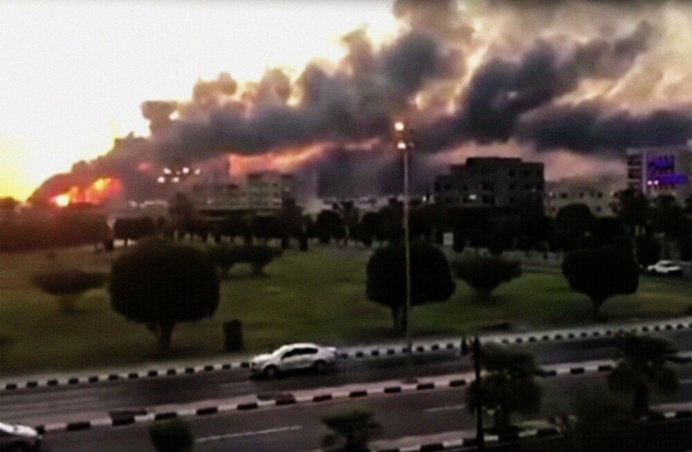 USA allikate sõnul lasti Saudi Araabiat rünnanud droonid ja tiibraketid välja Iraanist