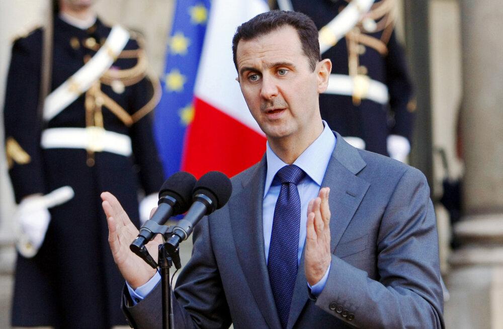 Süüria president al-Assad üritab ameeriklastest ette jõuda: ta väisab Kim Jong-uni