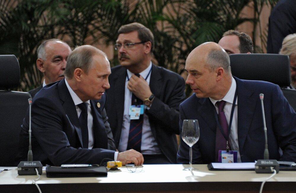 Leht: Venemaa ülioptimistlikku majandusprognoosi ootab aprillis pang külma vett