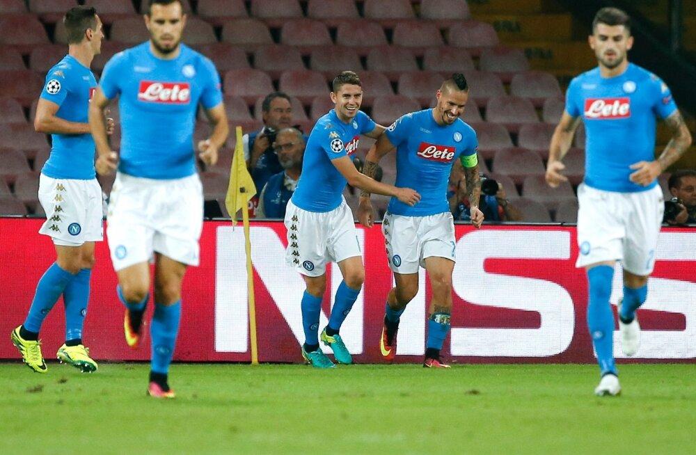 Napoli jalgpallurid