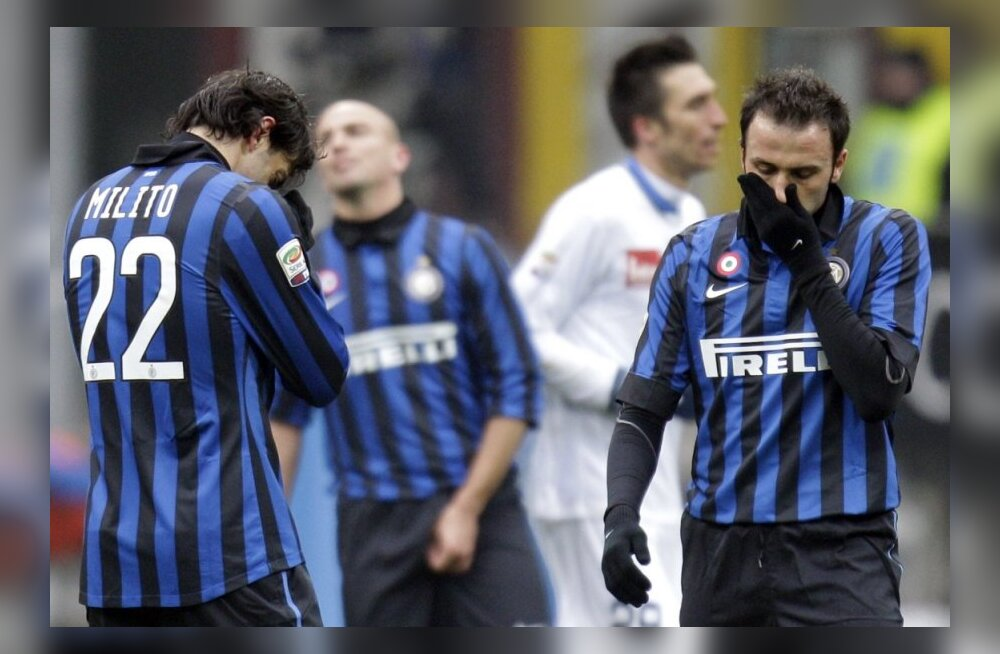 Milano Inter - Novara, jalgpall