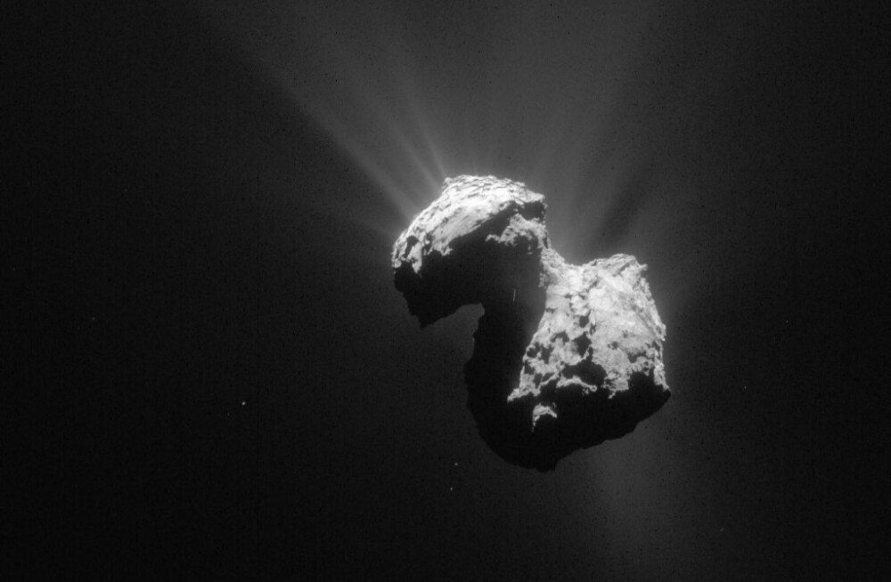 Komeedil on jääd, mis on pehmem kui piimavaht kohvil