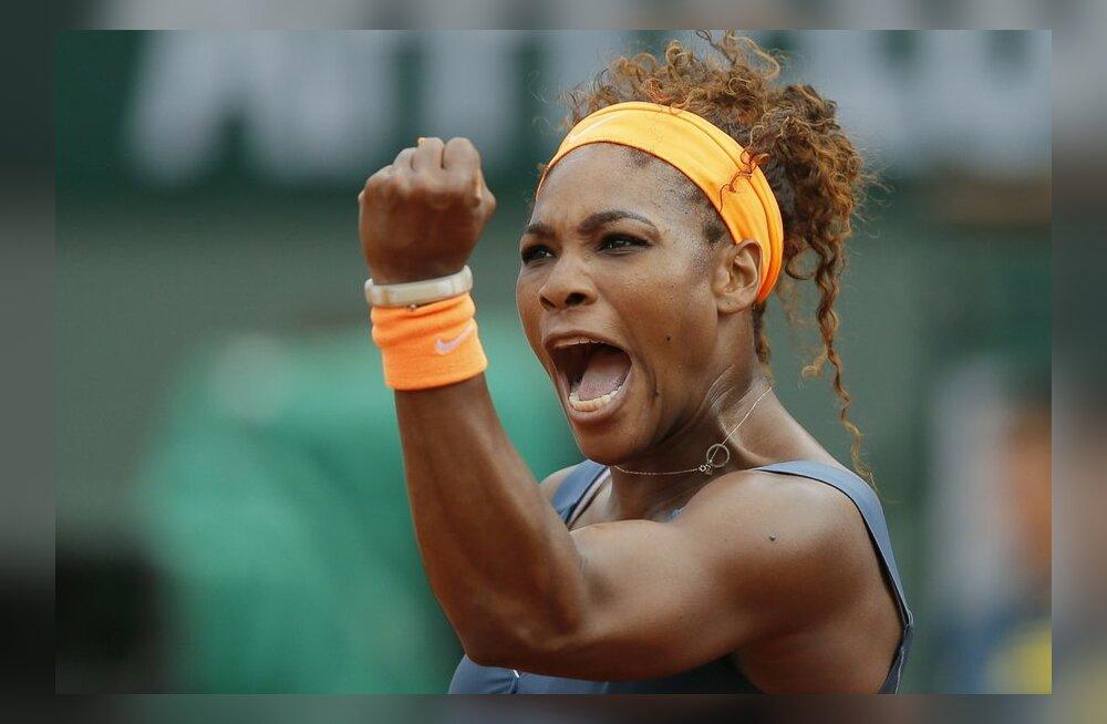 Naiste maailma esinumber Serena Williams, tennis