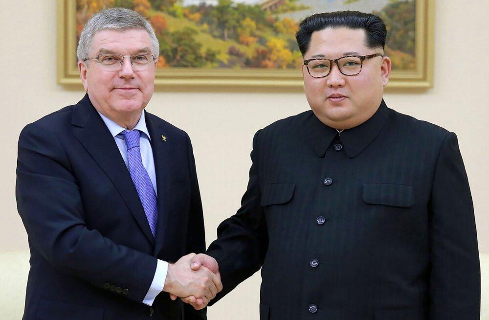 Kim Jong-un kohtus ROKi presidendiga ning tegi tulevikuks avalduse