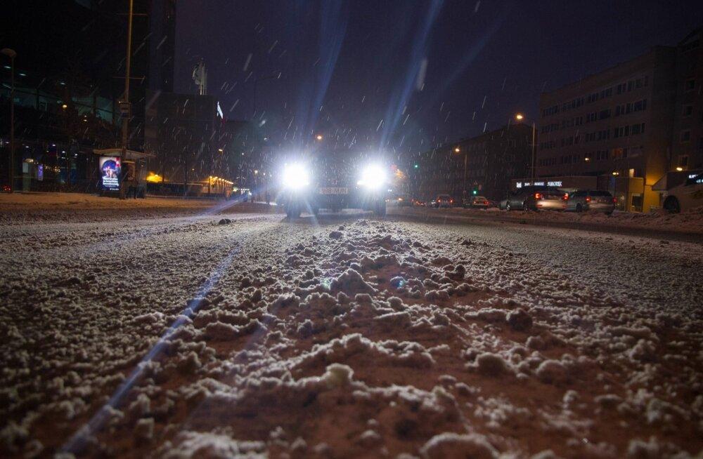 Lumine Tallinn õhtul