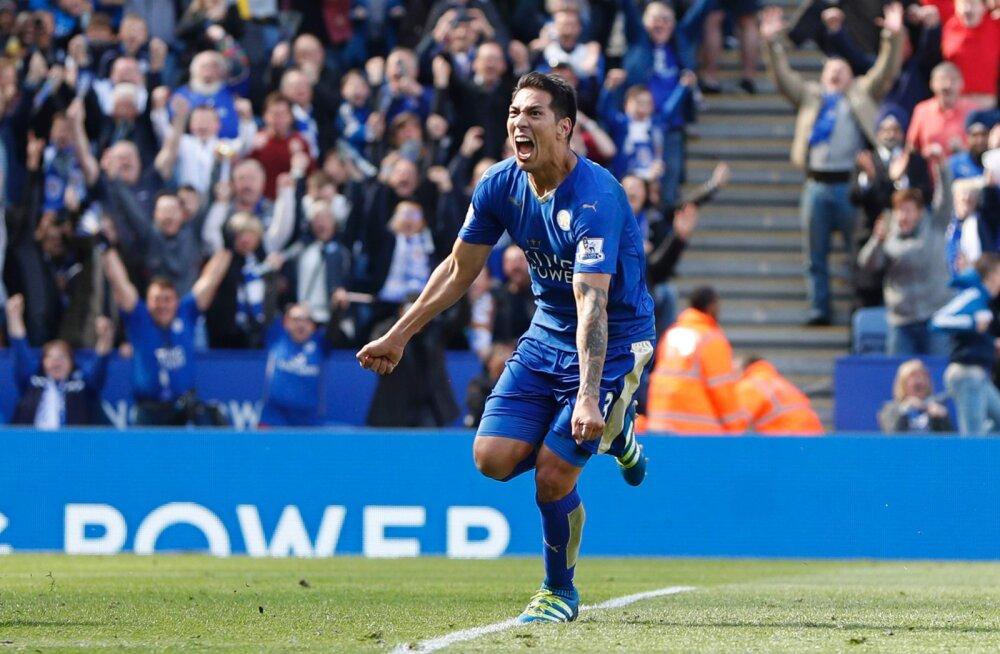 Viienda üleminuti penalti päästis Leicesterile viigi
