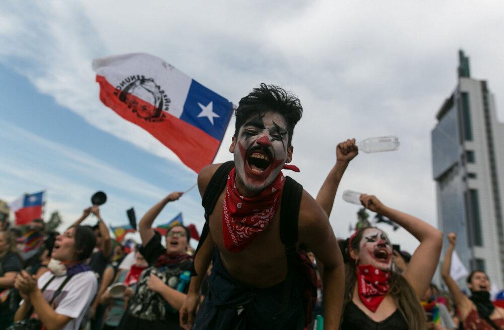 Протестный туризм: в Чили придумали новый вид путешествий