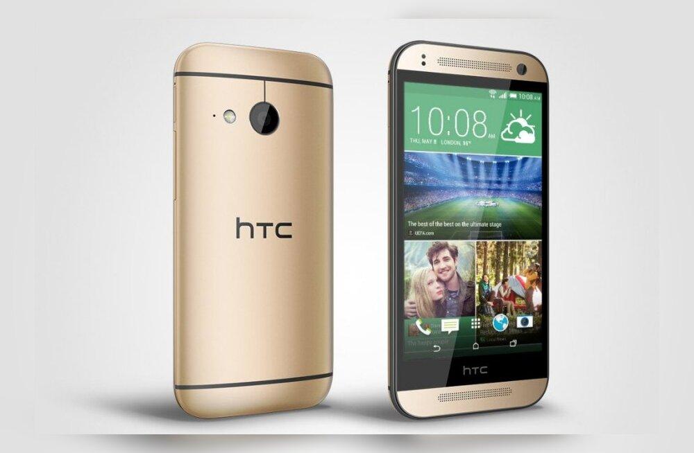 """HTC One mini 2 – mõistlik """"vähendatud"""" variant tootja tänavusest tipptelefonist"""