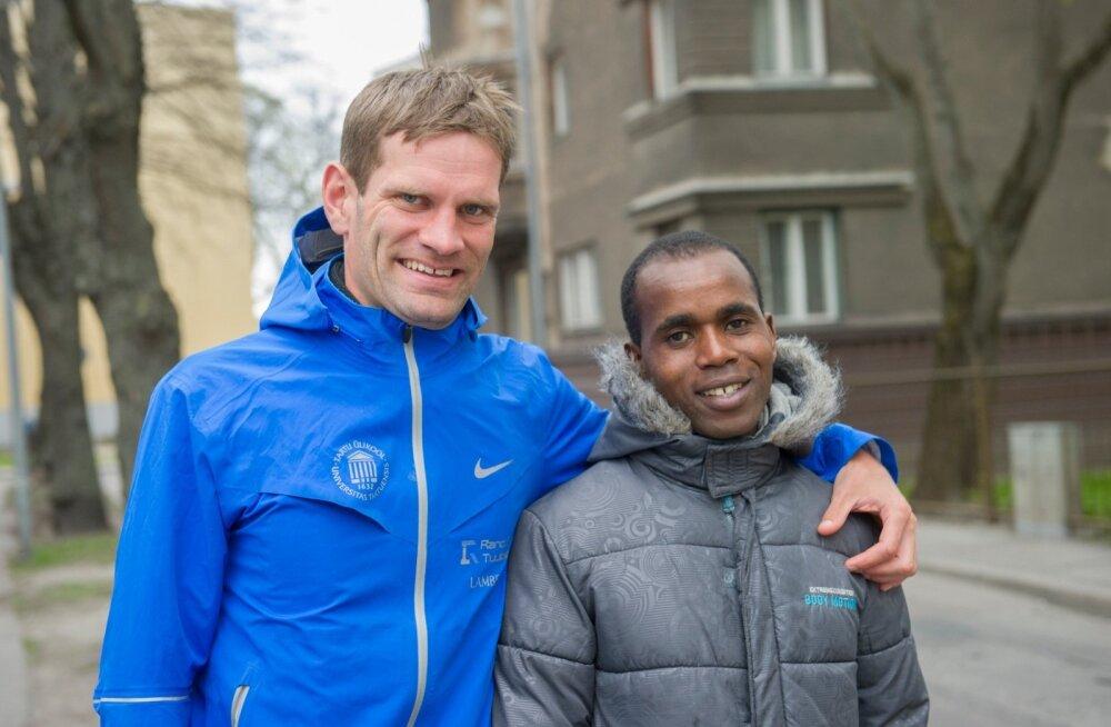 Tiidrek Nurme ja Ibrahim Mukunga Wachira