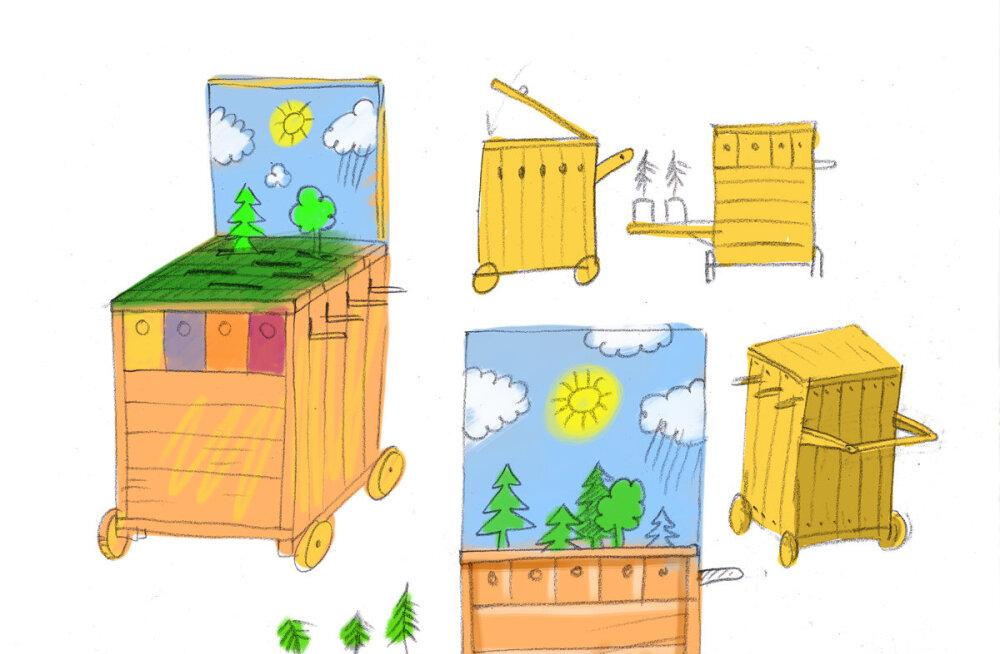 Изобретения детей призывают бороться с потеплением климата и беречь природу Эстонии