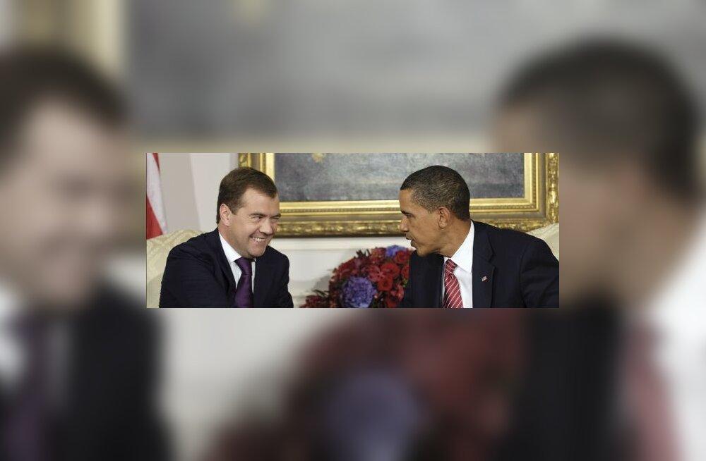 Medvedev lubas Obamale Iraani sanktsioone