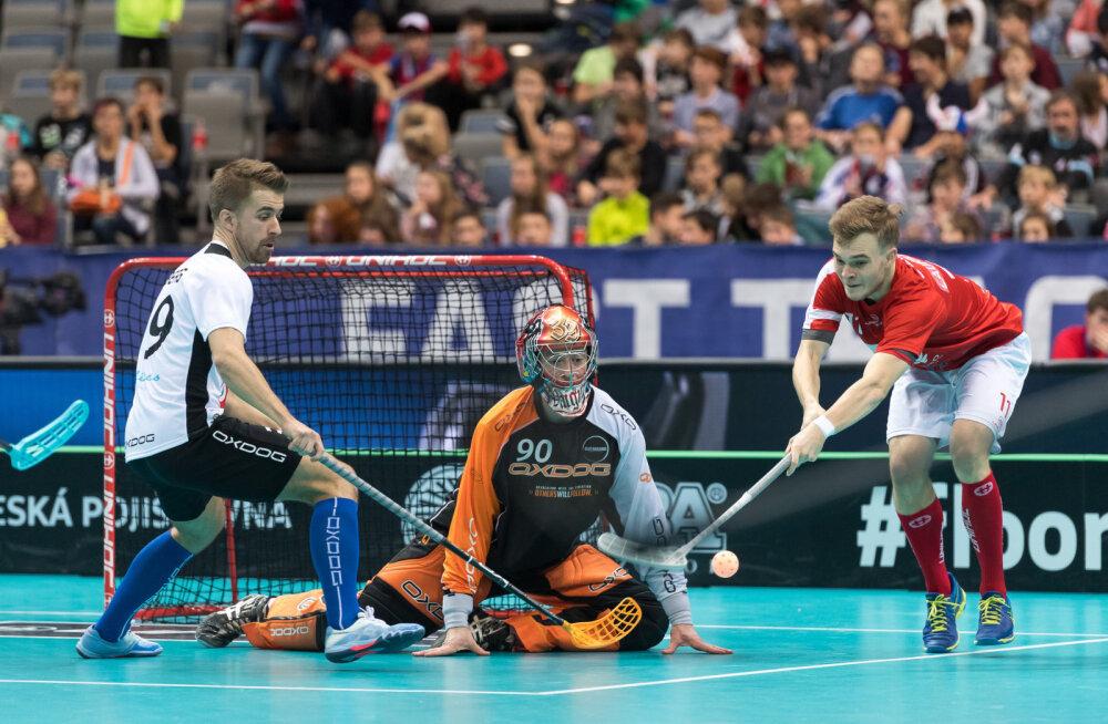 Eesti vs Taani saalihoki