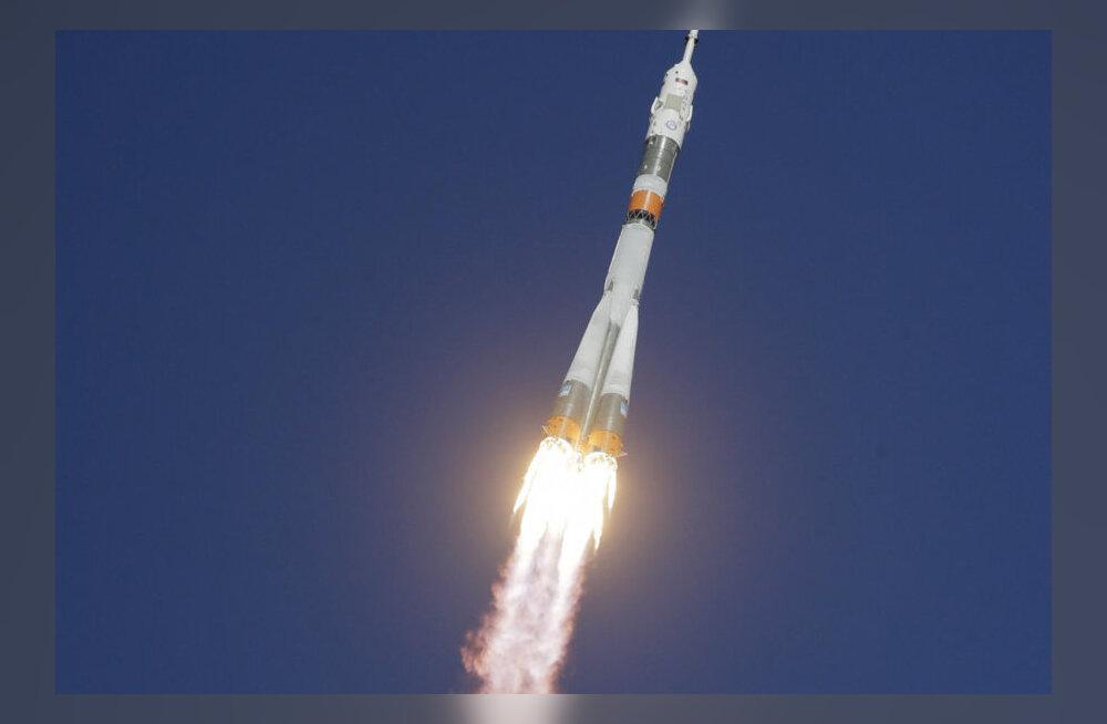 """При старте ракеты """"Союз-ФГ"""" с новым экипажем МКС произошла авария"""