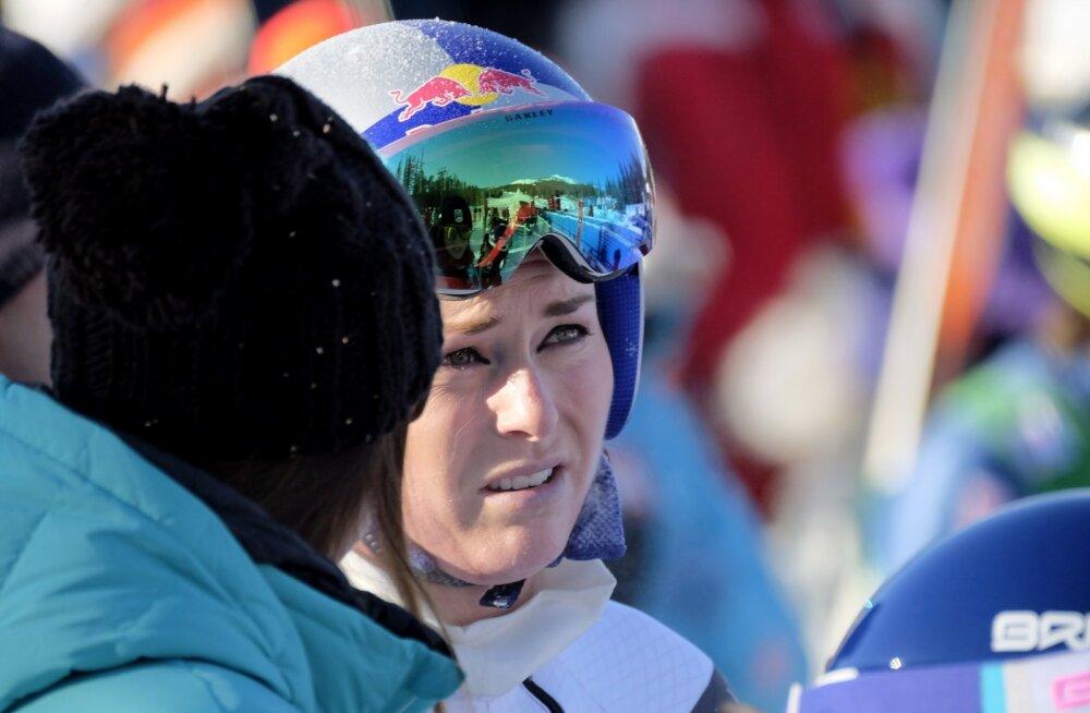 USA olümpialootus Lindsey Vonn