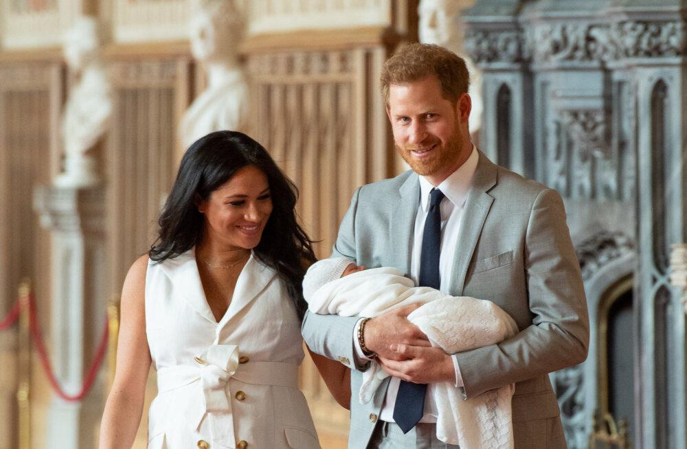 FOTOD | Oh, sa nunnu! Meghan ja Harry näitasid esimest korda avalikkusele oma esiklast