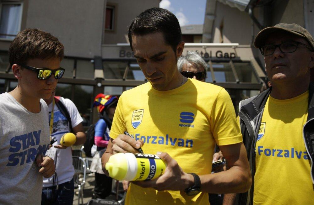Karjääri lõpusirgel olev Contador võtab peaeesmärgiks Tour de France'i
