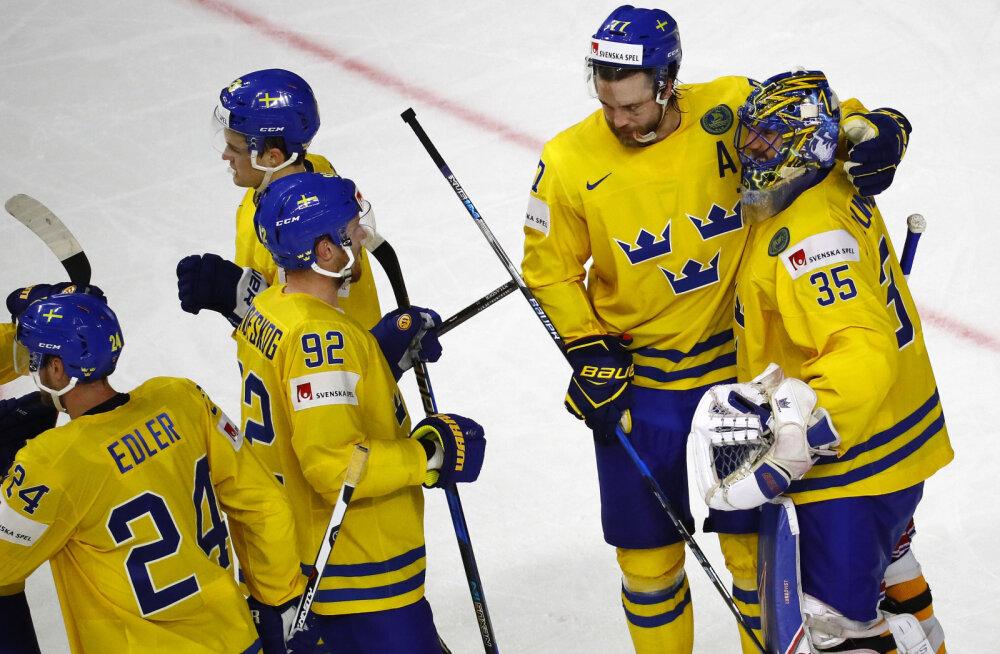 Rootsi jäähokikoondislased