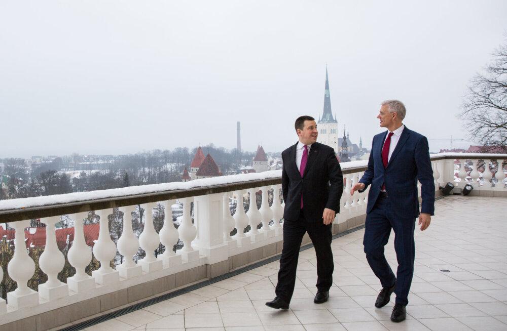 Ратас на встрече с премьер-министром Латвии: отношения Эстонии и Латвии становятся все лучше
