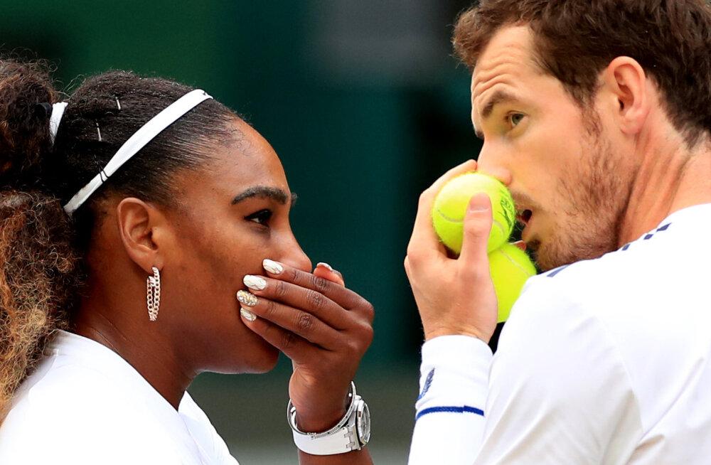 Tennisemaailma superduo alustas Wimbledonis võidukalt