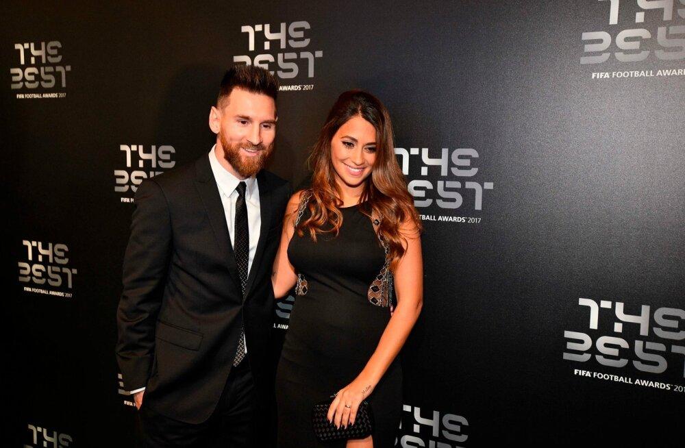 Lionel Messi ja Antonella Roccuzzo