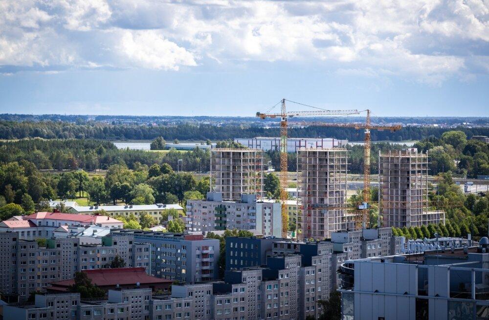 Tallinnas on ehituslubade saamine aeglustunud