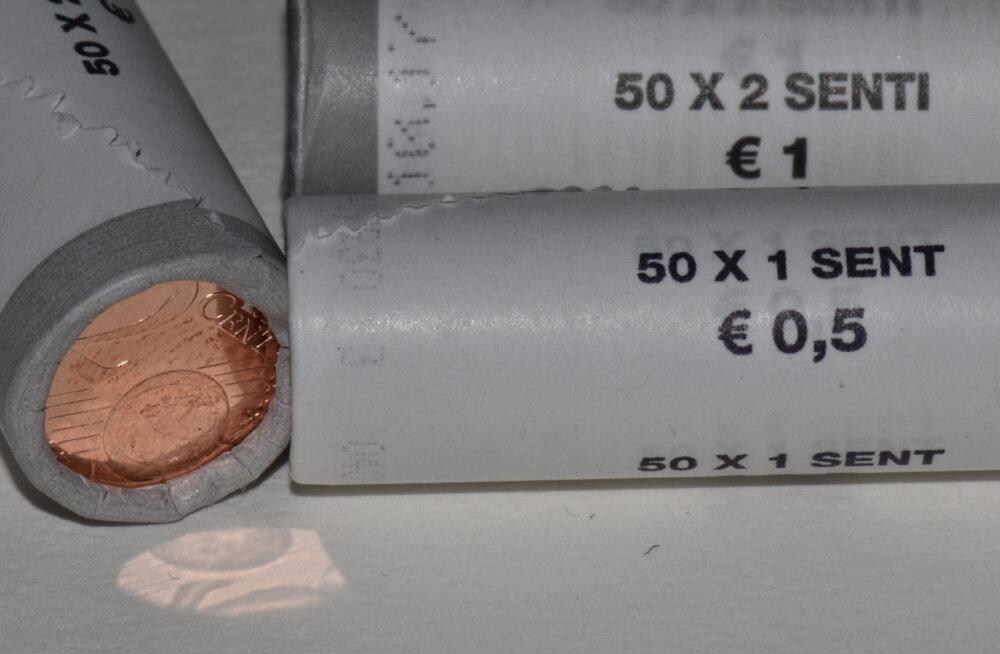 1- ja 2-sendistega on Eestis surnud ring: keskpank tellib, rahvas väldib kasutamist