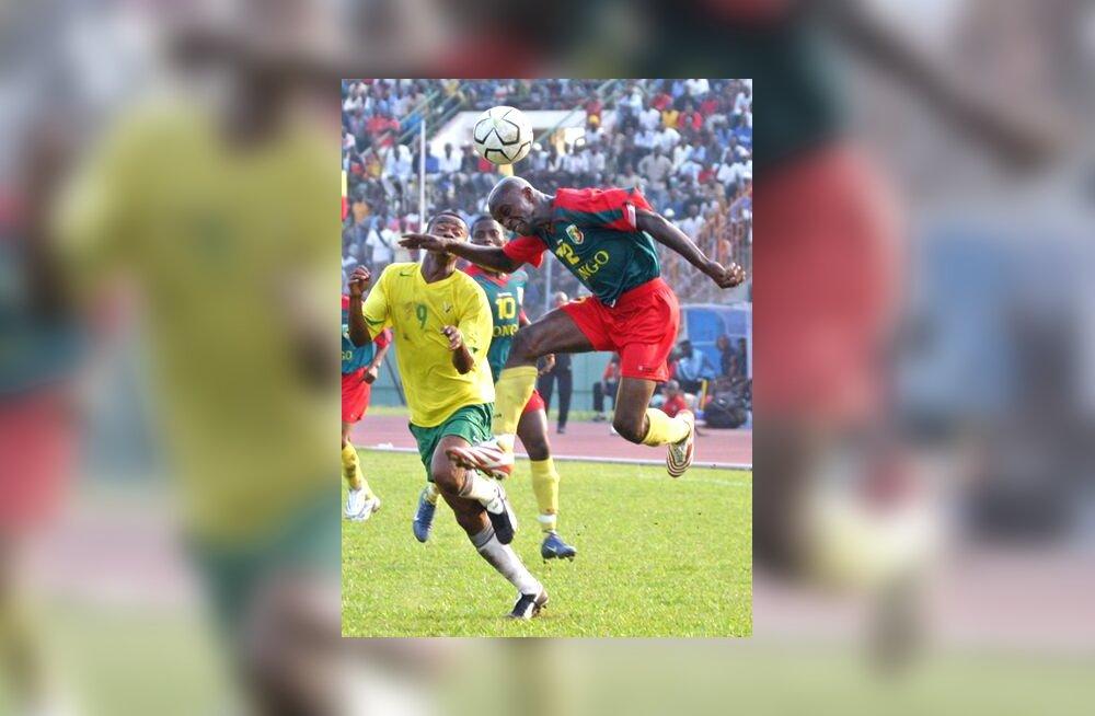 Kongo ja Togo kohtumine MM-valiksarjas