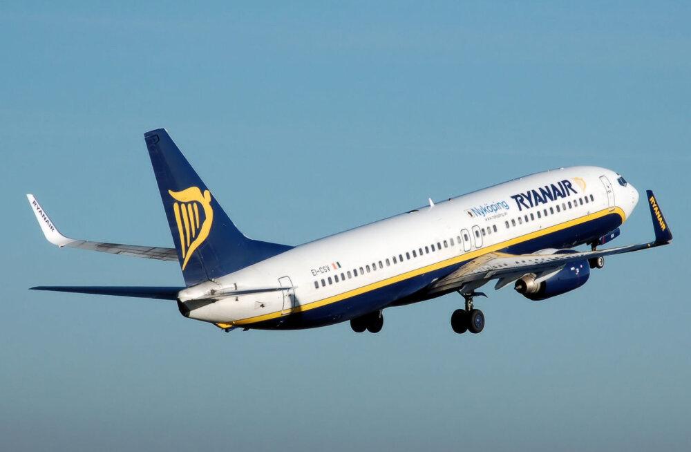 Reisijad valisid: Ryanair on jälle populaarseim lennufirma
