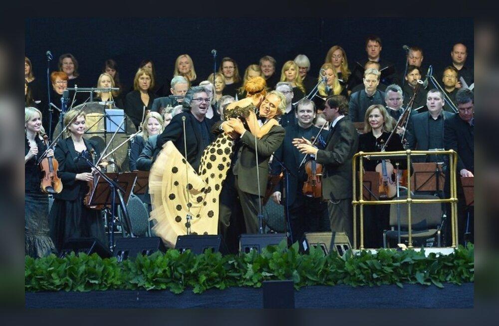 ФОТО DELFI: Тенор Андреа Бочелли на Tallinn Star Weekend спел дуэтом с Таней Михайловой