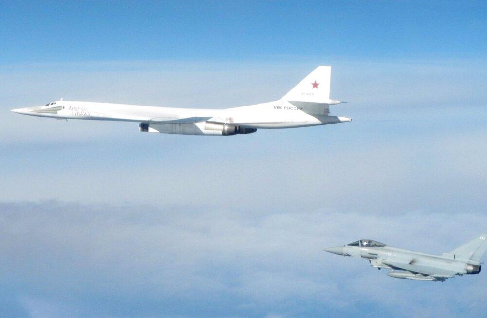 NATO hävitajad tuvastasid Läänemere kohal Vene strateegilised pommitajad Tu-160