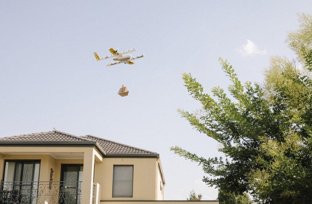 Kopterivurin ja soe toit: Helsingis saab varsti drooniga süüa tellida